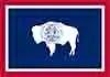 Wyoming state flag courtesy of Wikipedia