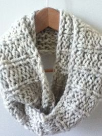 Knit Infinity Scarf Designs and Patterns