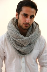 Men's Infinity Scarf Designs and Patterns | World Scarf