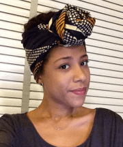 hair scarf design and patterns