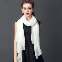 White Scarf Designs and Patterns
