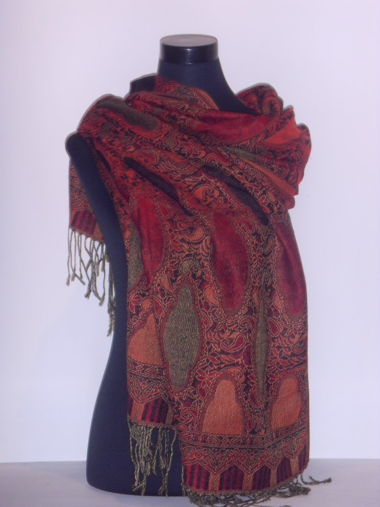 Cashmere Scarf Designs and Patterns