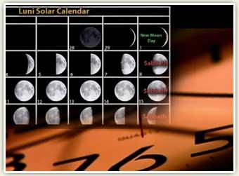 Calendar Format Instructions