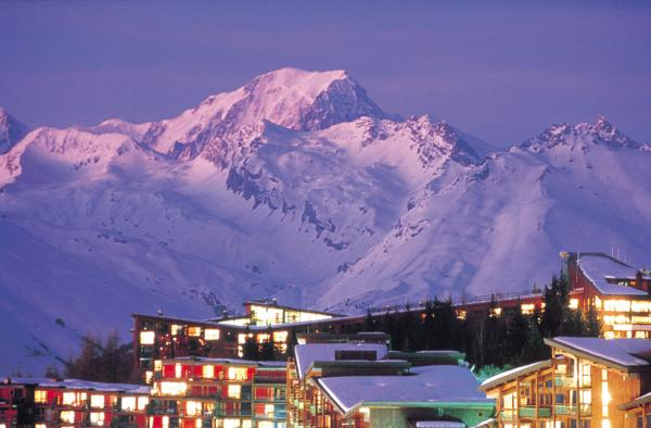 Les Arcs Accomodation Guide World Snowboard Guide