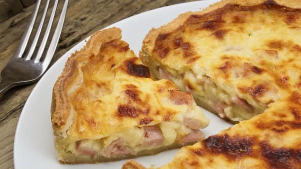 Rezept Franzsische Quiche Lorraine  worlds of food  Kochen Rezepte Kchentipps Dit gesunde