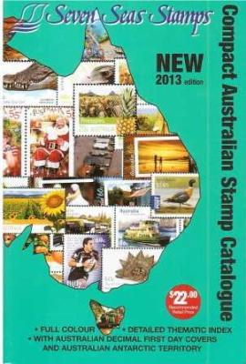 Compact Australian Stamp Catalogue – 2013