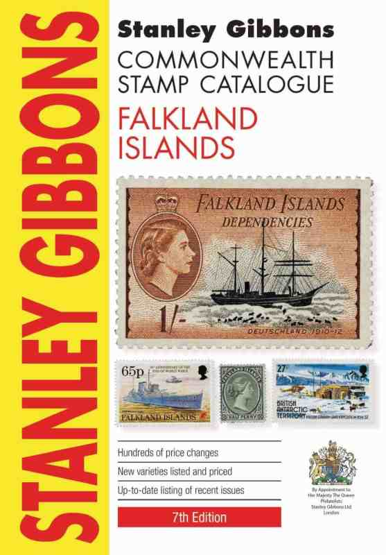 Stanley Gibbons Commonwealth Stamp Catalogue Falkland Islands – 2016