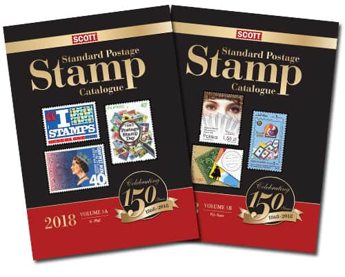 2018 Scott Standard Postage Stamp Catalogue – Volume 5 (N-Sam)