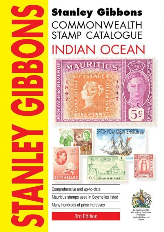 Stanley Gibbons Commonwealth Stamp Catalogue: Indian Ocean – 3rd Edition