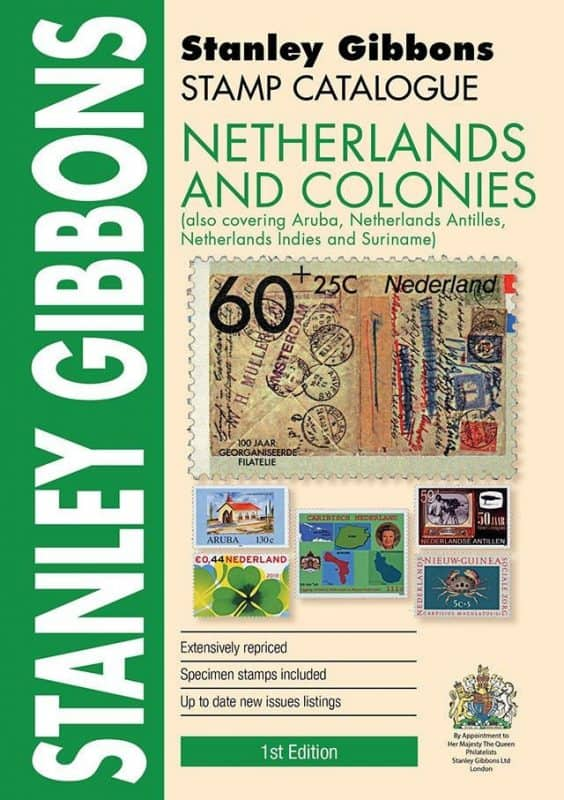 Stanley Gibbons Netherlands & Colonies Stamp Catalogue – 1st Edition