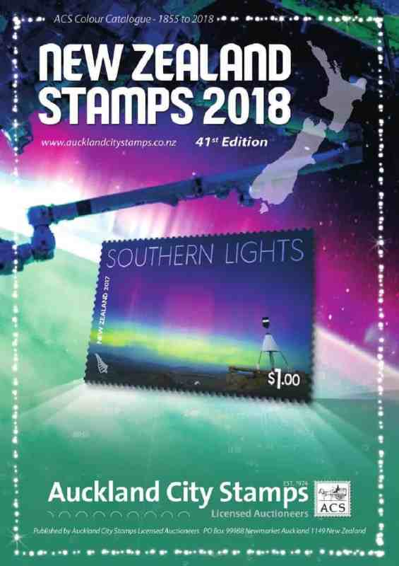 ACS New Zealand Stamps 2018