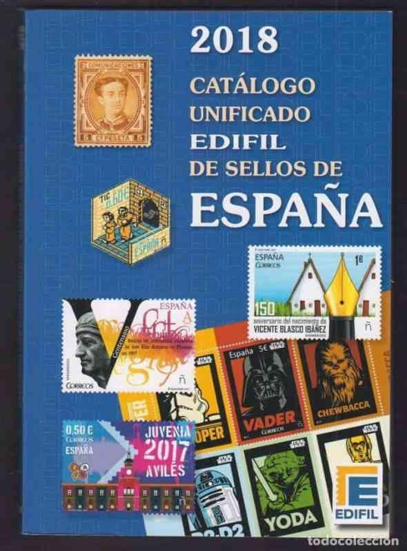 Edifil Catálogo Unificado de sellos de España 2018