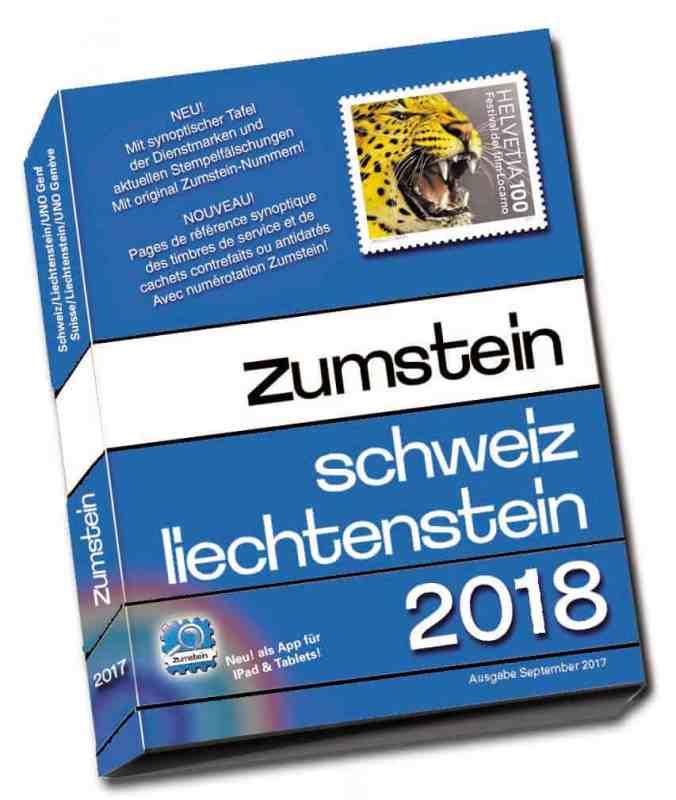 Zumstein Schweiz/Liechtenstein Katalog 2018