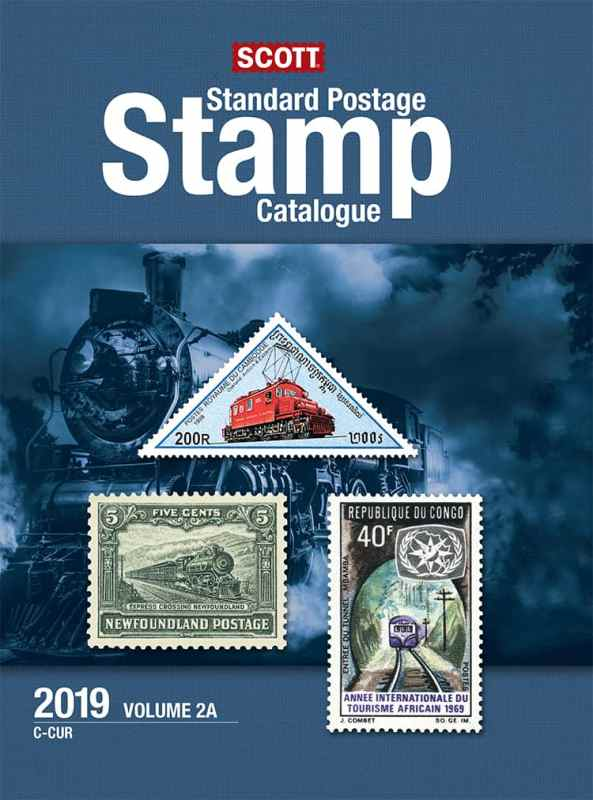 2019 Scott Standard Postage Stamp Catalogue – Vol. 2 (C-F)