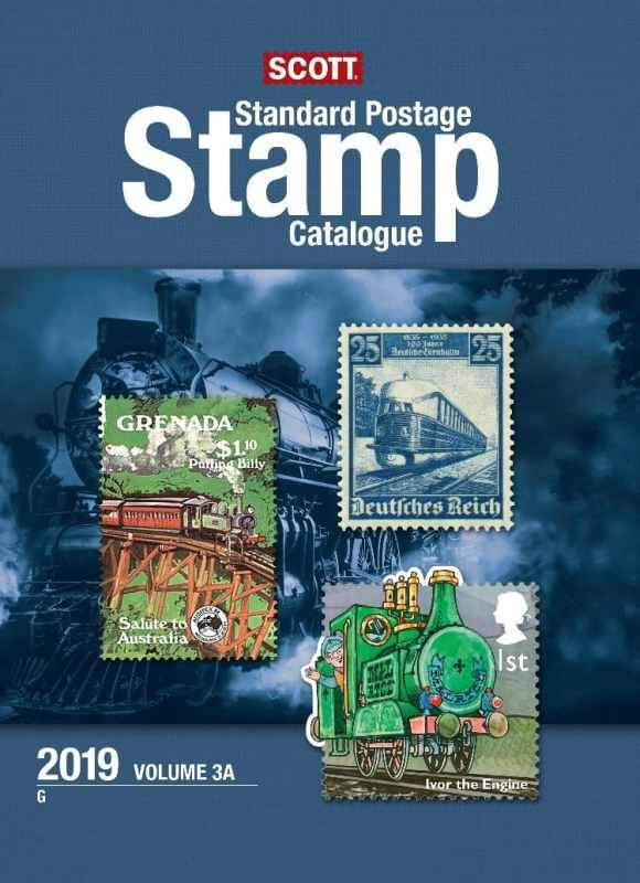 2019 Scott Standard Postage Stamp Catalogue – Vol. 3 (G-I)