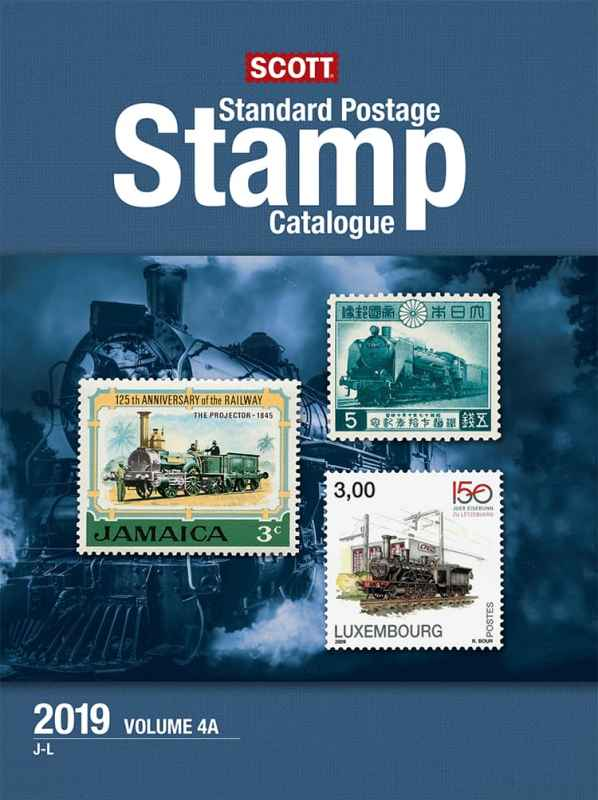 2019 Scott Standard Postage Stamp Catalogue – Vol. 4 (J-M)