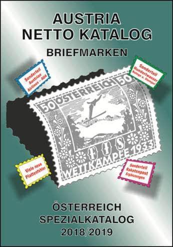 Austria Netto Katalog – Briefmarken Österreich Spezial Katalog 2018/2019