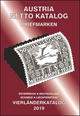 Austria Netto Katalog – Briefmarken Vierländerkatalog 2019