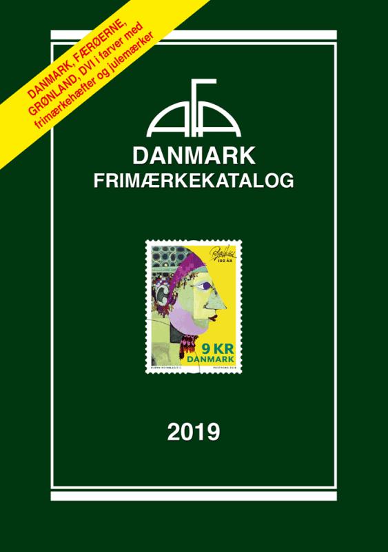AFA Danmark frimærkekatalog 2019