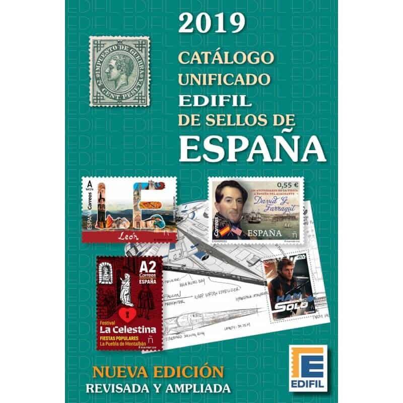 2019 Catálogo Unificado Edifil de Sellos España