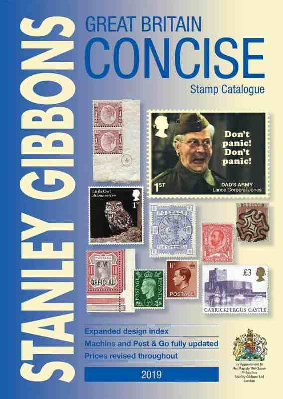 Great Britain Concise Stamp Catalogue 2019