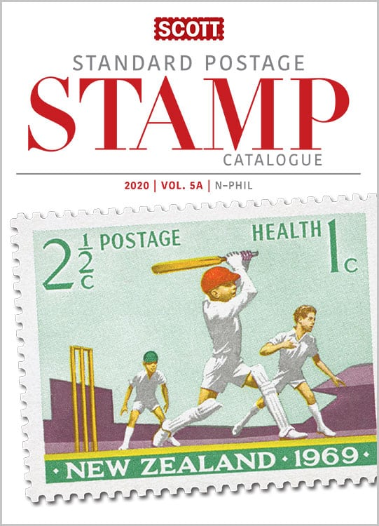 2020 Scott Standard Postage Stamp Catalogue – Volume 5 (N-Sam)