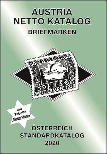 Austria Netto Katalog (ANK) – Stamps Austria Standard Catalog 2020