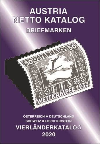 Austria Netto Katalog (ANK) – Stamps four-country catalog 2020