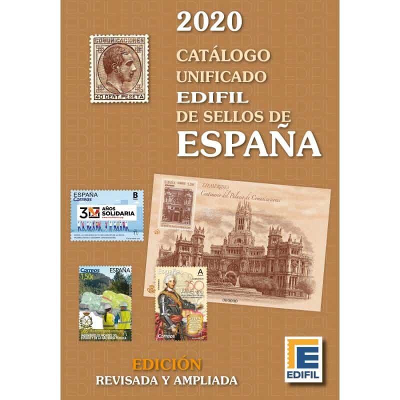 Edifil Spain 2020 Stamp Catalog