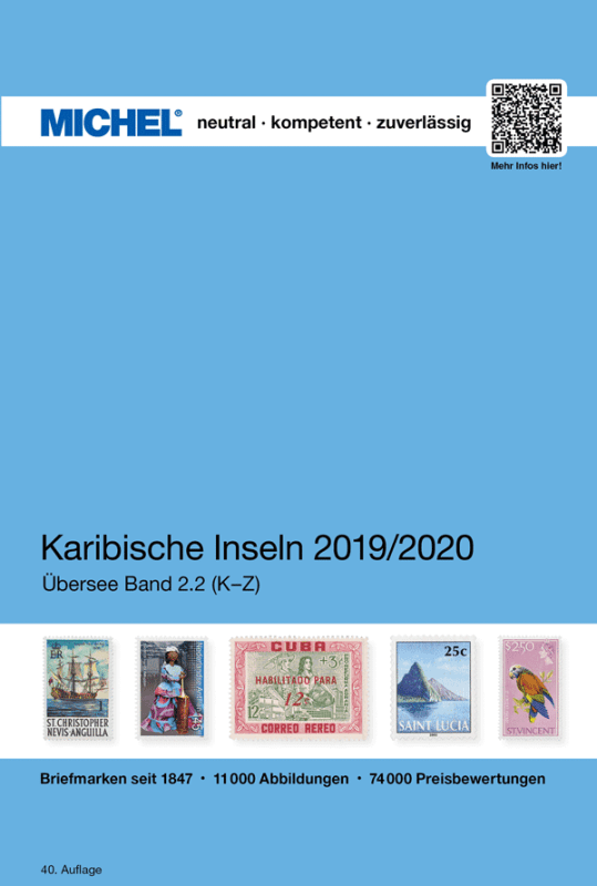Michel Caribbean Islands 2019/2020 – Volume 2 K-Z