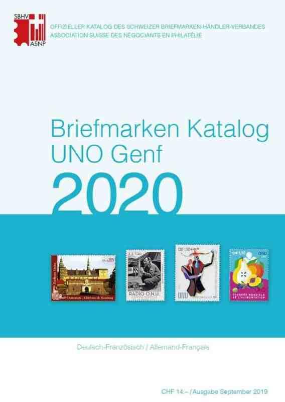 SBK – Stamp Catalog UN Geneva 2020