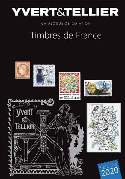 Yvert&Tellier  French Stamp Catalogue 2020 – Volume 1