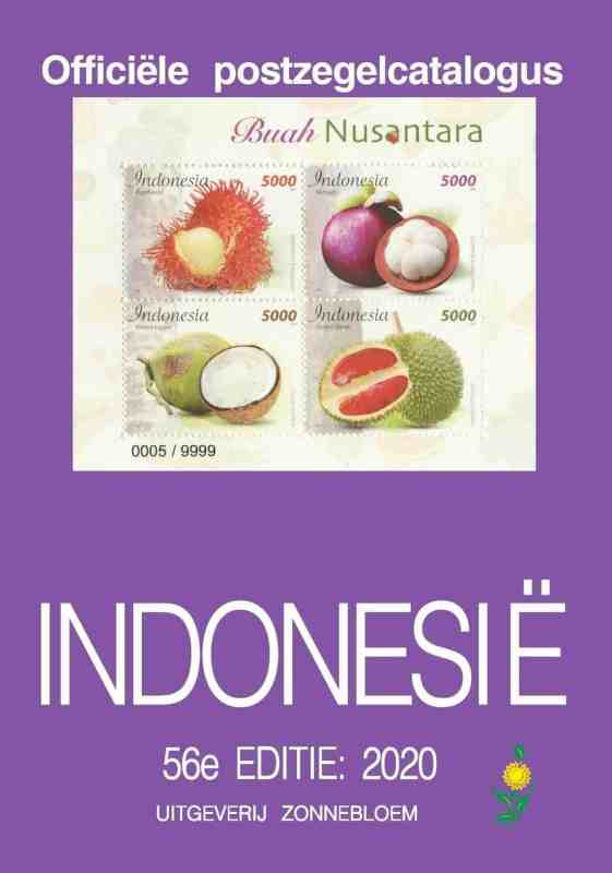 Zonnebloem Official Stamp Catalogue Indonesia 2020