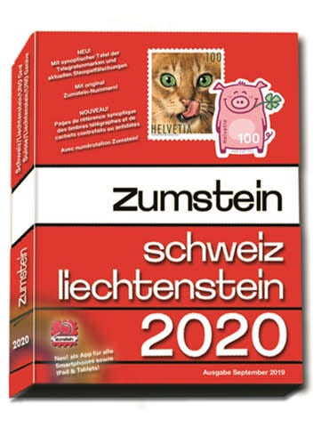 Zumstein Switzerland/Liechtenstein Catalogue 2020