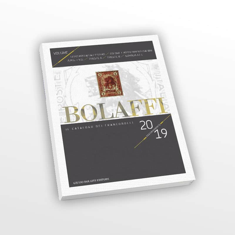 Bolaffi Stamp Catalog, Italian Colonies and Possessions 2019