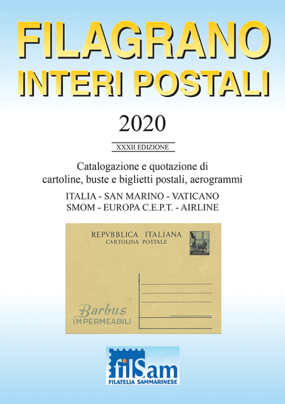 Filagrano Postal Stationary 2020