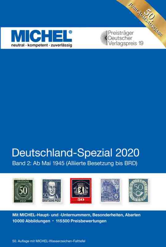 Michel Germany Specialized 2020 – Volume 2 (as of May 1945)