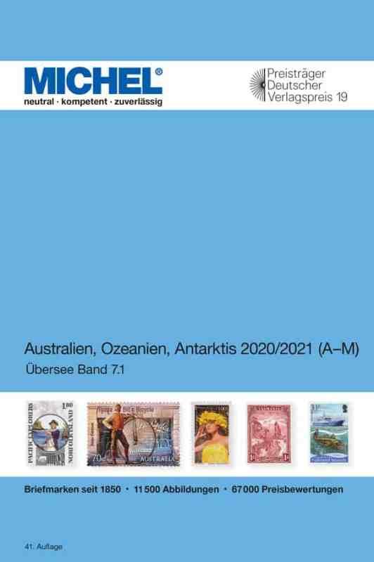 Michel Australia/Oceania/Antarctica 2020/2021 – Volume 1 A-M