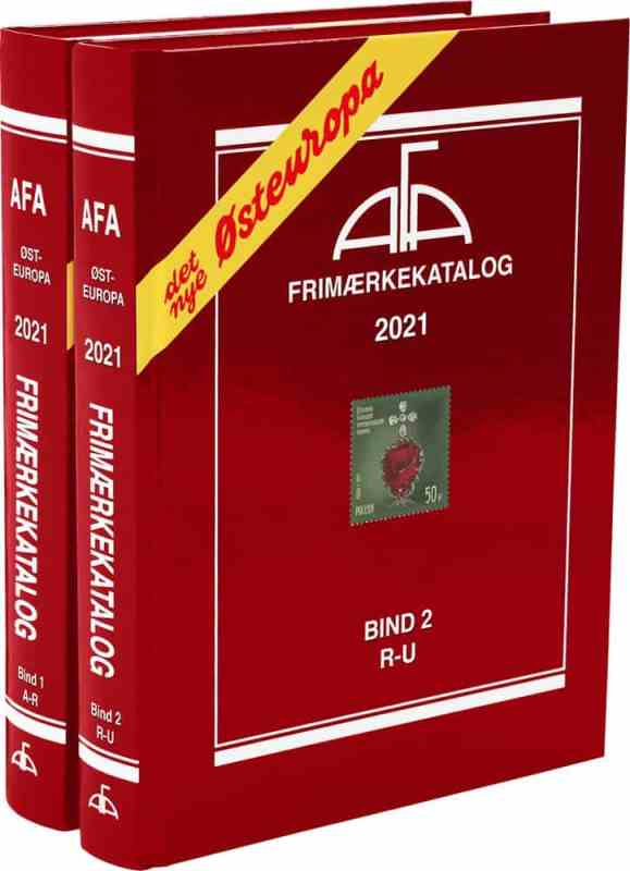 AFA – Eastern Europe 2021 – Volume I+II – Stamp catalogues