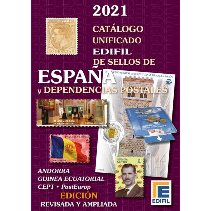 Edifil Catalog of Stamps of Spain and Postal Dependencies 2021