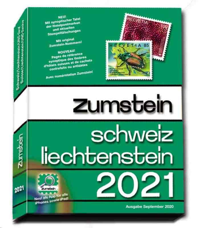 Zumstein Switzerland and Liechtenstein 2021