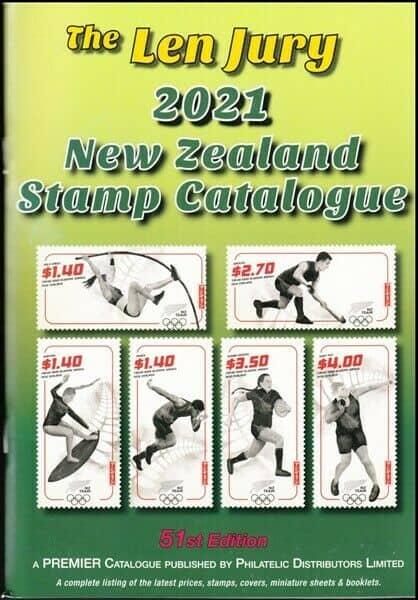 The Len Jury 2021 New Zealand Stamp Catalogue