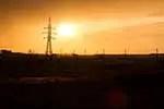 Kazakhstan prairie sunset
