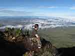 Man atop Monte Roraima, Venezuela