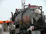 Chemicals tank truck