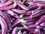 Purple fruit or vegetable