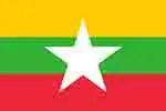 Myanmar Burma flag