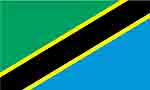 Tanzanian flag courtesy of FlagPictures.org