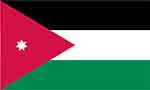 Jordanian flag courtesy of flagpictures.org