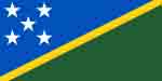 Solomon Islands flag courtesy of Wikipedia